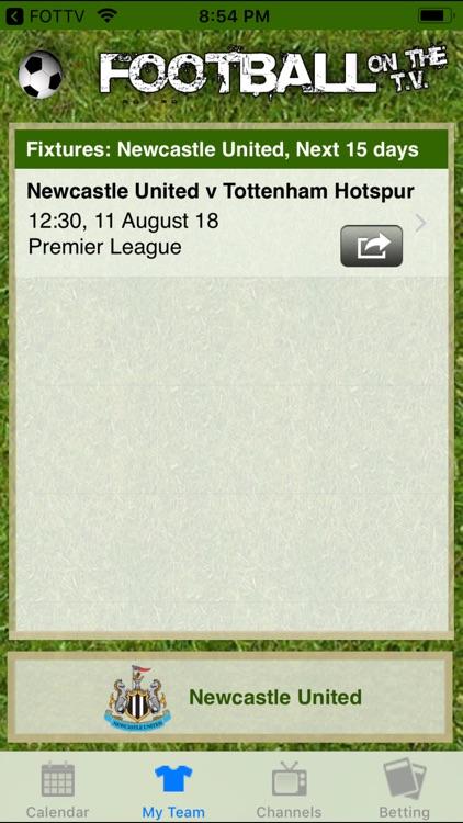 Football on the TV screenshot-3
