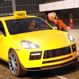 New York Taxi Driving Sim 3D
