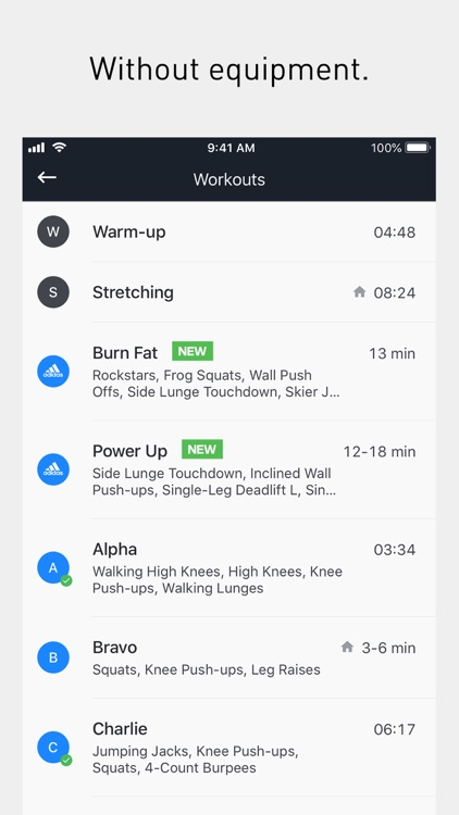 Runtastic Results Bodyweight screenshot-3