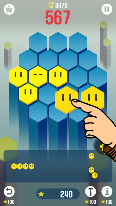 MakeRocket  Block Hexa Puzzle screenshot 1