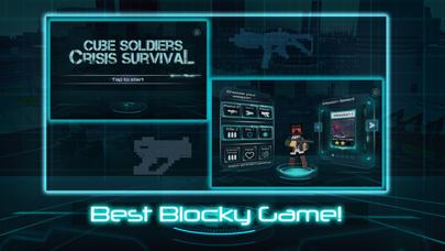 Cube Soldiers: Crisis Survivalのおすすめ画像2