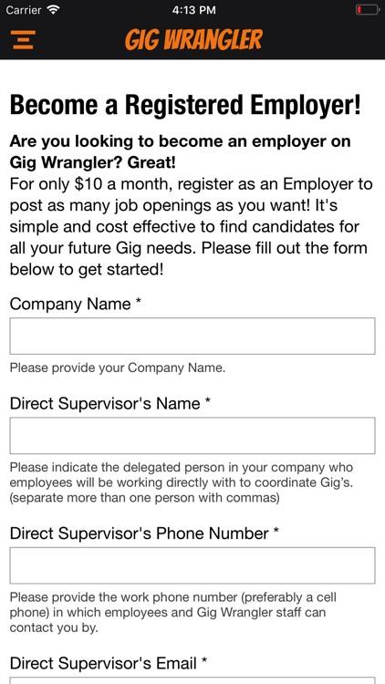 Gig Wrangler screenshot-3