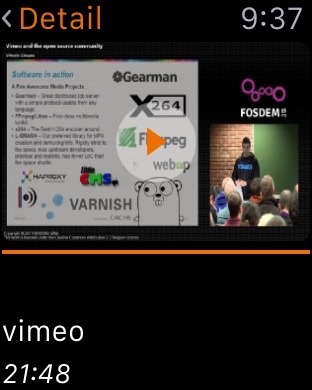 VLC for Mobile Screenshot