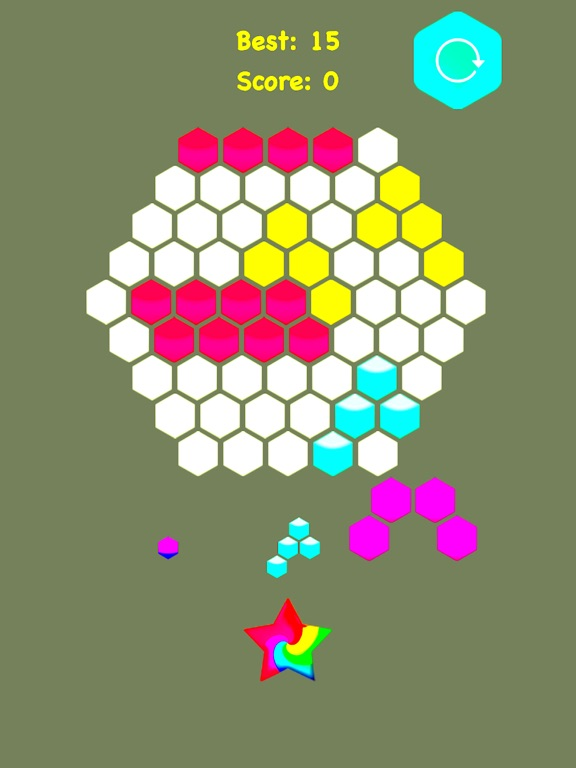 !Hexagonal Merge - Premium screenshot 6