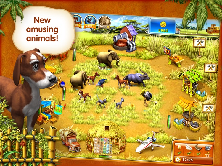 Farm Frenzy 3 MadagascarHDLite screenshot-3