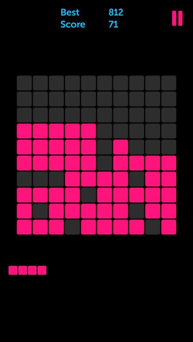 Pink Blocks: 1010 Puzzle Games screenshot 1