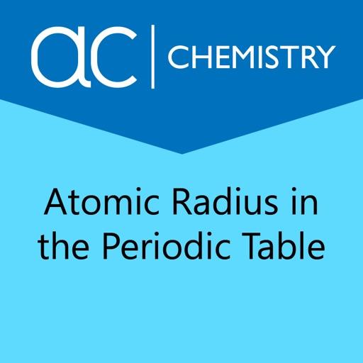 Atomic radius periodic table app data review education apps atomic radius periodic table app logo urtaz Gallery