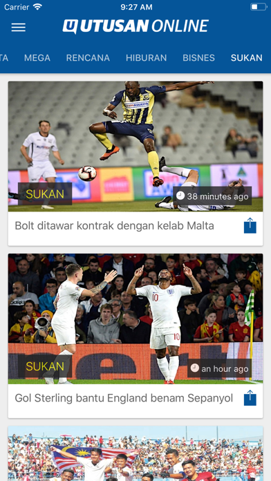 Utusan OnlineScreenshot of 6