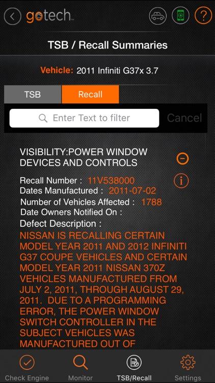 GoTech™ Mobile OBDII Diagnostics Tool screenshot-3