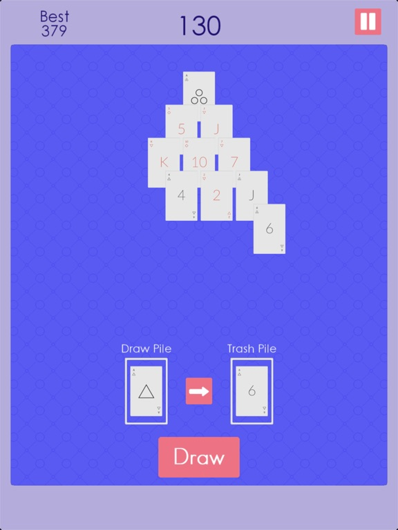 Endless Pyramid Solitaire screenshot 8