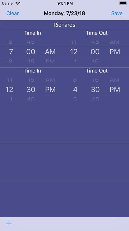 EDIT TimeCards screenshot-4