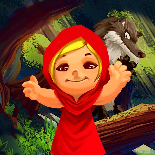Red Riding Hood Storybook tale