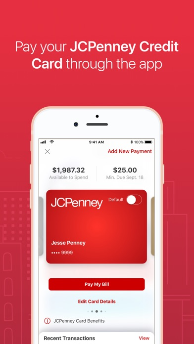 JCPenney Screenshot on iOS