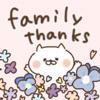 たれ目ネコの家族連絡/母の日/父の日