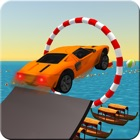 Floating Aqua Car Stunt icon