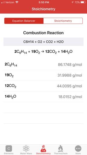 ChemCalc: Chemistry Calculator on the App Store