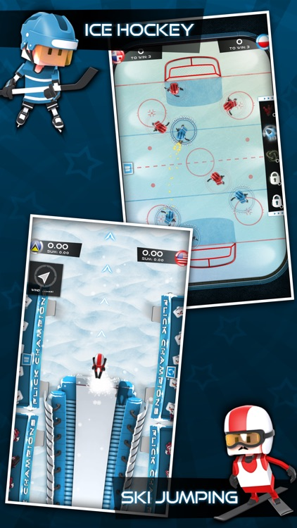 Flick Champions Winter Sports screenshot-1