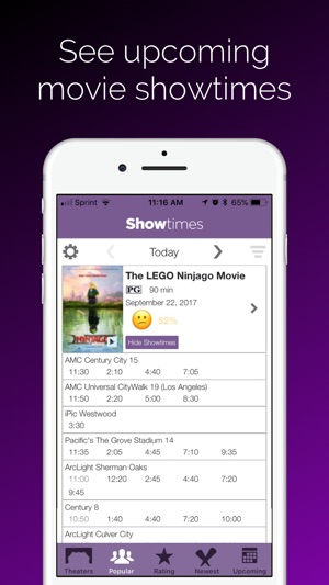 Showtimes - Movie Tickets on the App Store
