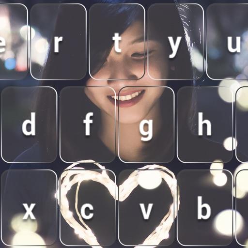 Моя фото клавиатура эмодзи