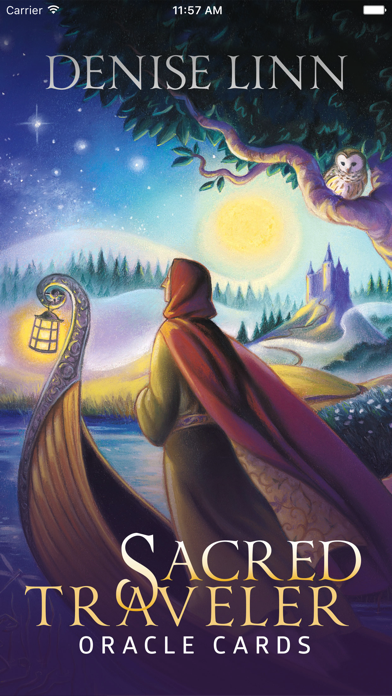 Sacred Traveler Oracle Cards screenshot 1