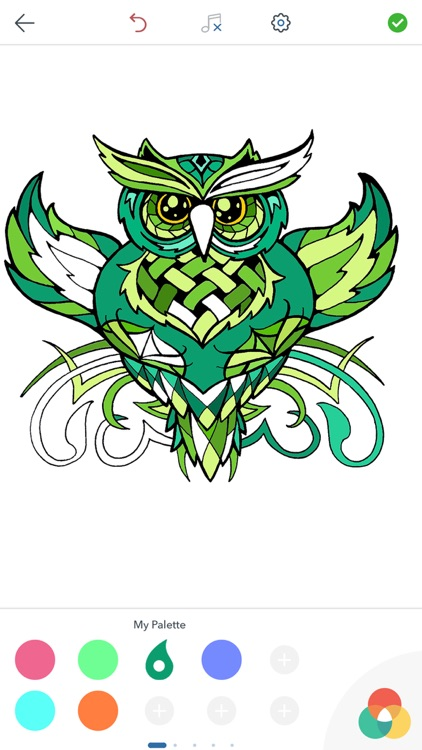 Owl Coloring Pages screenshot-4