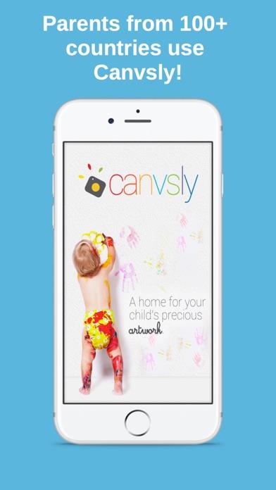 Canvsly - Save Kids Artwork Screenshots