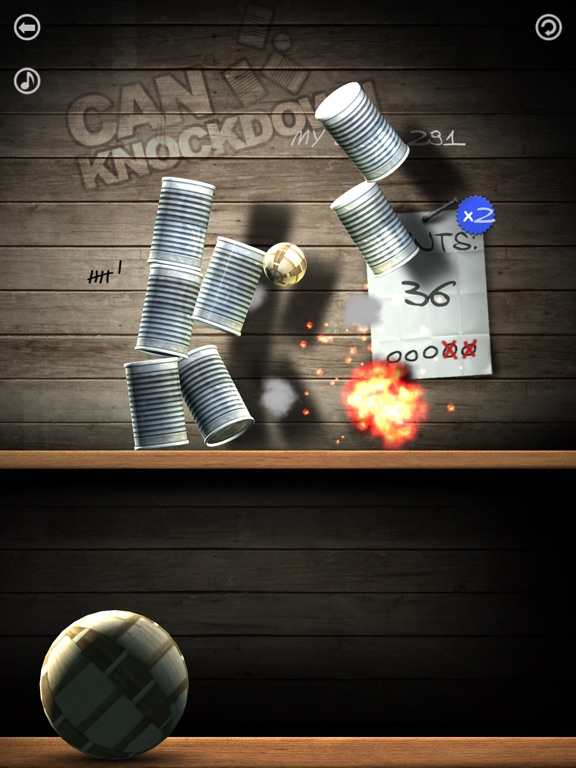 Can Knockdown для iPad