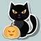 App Icon for Halloween Sticker Collection App in Denmark IOS App Store