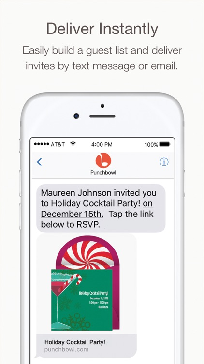 Punchbowl – Online Invitations screenshot-3