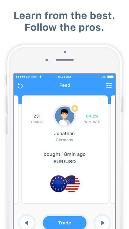UpTick - The Stock Market Game screenshot-3