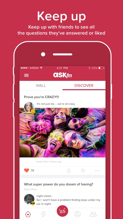 ASKfm: Ask Anonymous Questions screenshot-4
