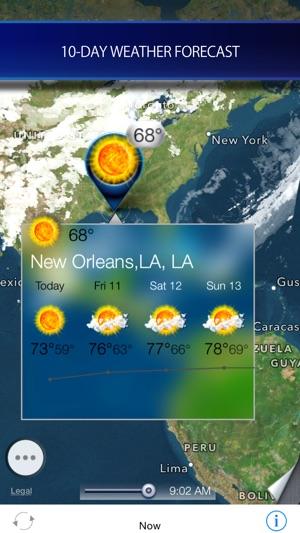Hurricane Storm Tracker Satellite Radar On The App Store