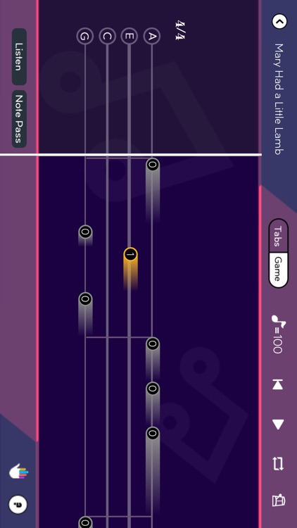 Tunefor Ukulele tuner & chords screenshot-2