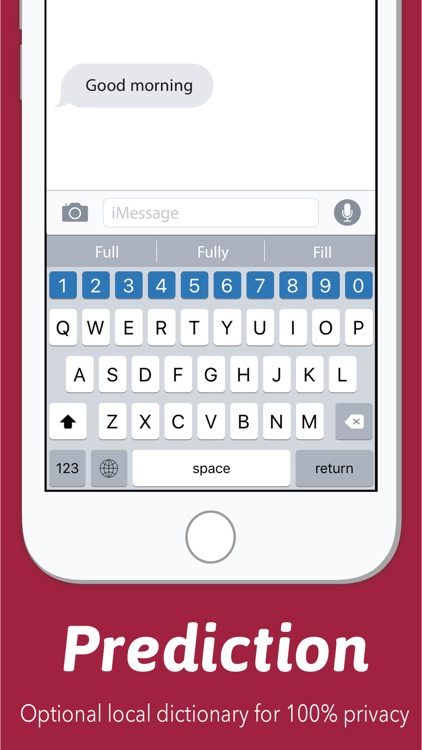 Number Row Keyboard screenshot-3