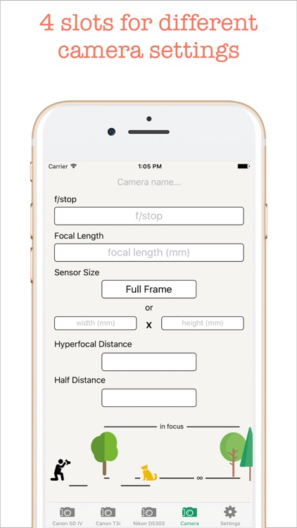 Hyperfocal Distance Calculator screenshot-4