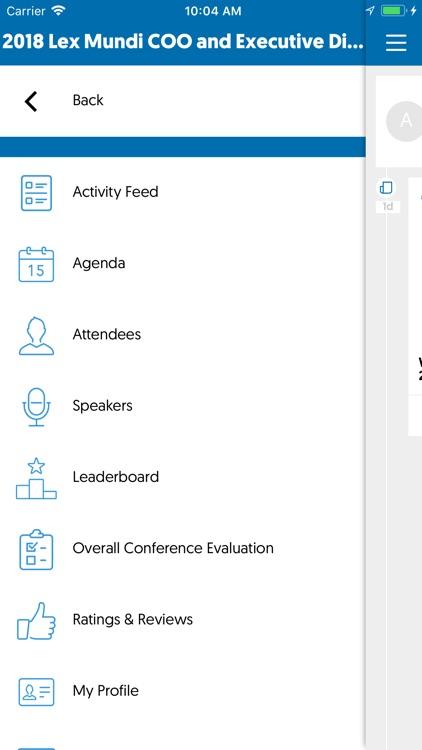 Lex Mundi Events App by TapCrowd NV