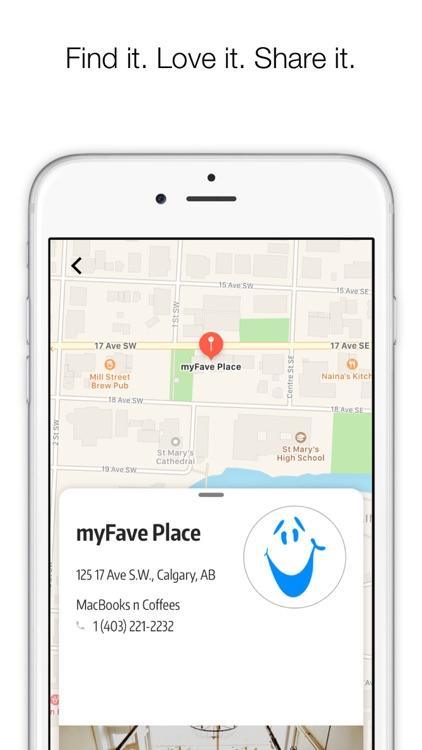 myFave screenshot-4
