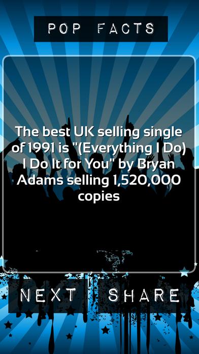 Pop Facts screenshot one