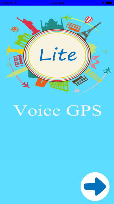 Voice Gps Driving Direction-L screenshot one