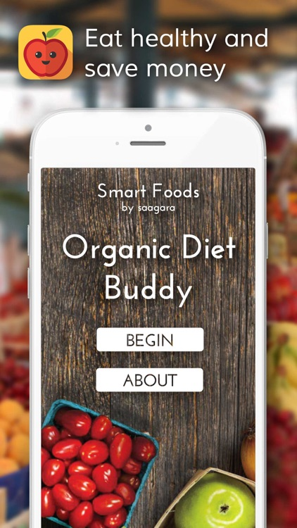 Smart Foods - Organic Diet Buddy screenshot-0
