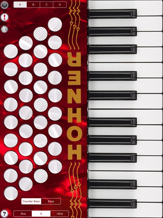Hohner MIDI Piano Accordion screenshot-3