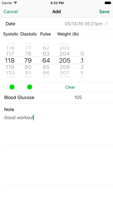 Ibp Blood Pressure review screenshots
