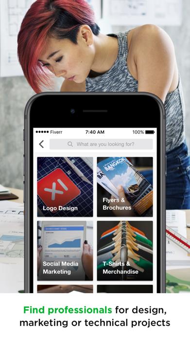 Fiverr - Freelance Services Screenshot
