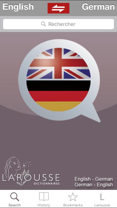 Anglais-Allemand Larousseのおすすめ画像1