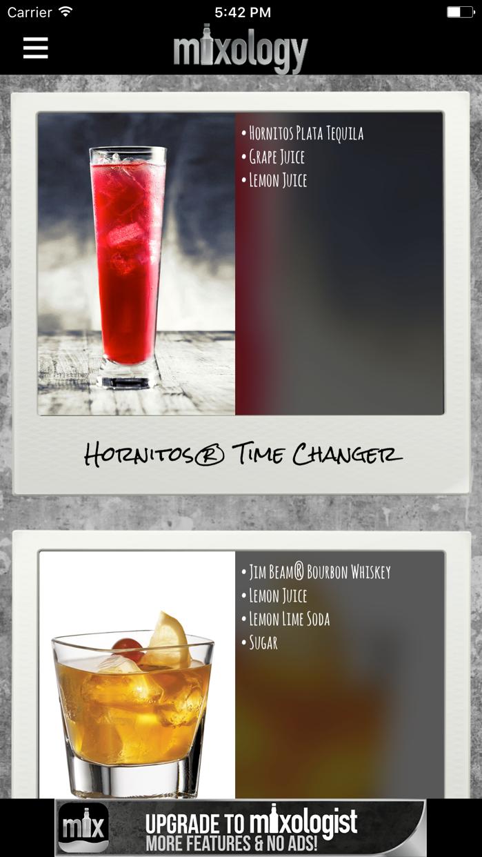 Mixology™ Drink & Cocktail Recipes (Free) Screenshot