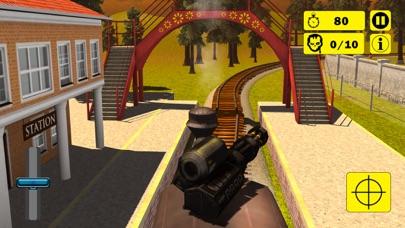 Zombie Survival Train Attack screenshot one