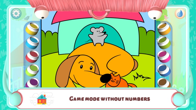 Color by Numbers - Dogs + screenshot-5