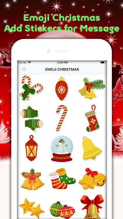 Christmas Emojis & Animated