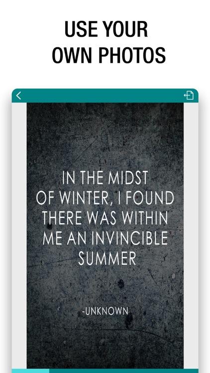 Quote Maker- Quote Creator screenshot-4