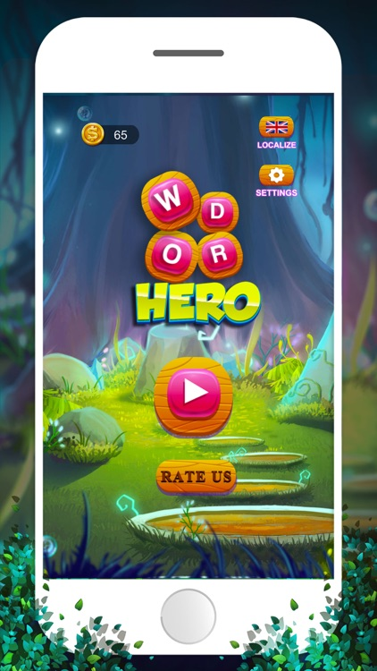 Word Puzzle Hero: Brain Games screenshot-0